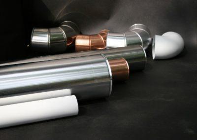 produzione tubi e curve alluminio pvc rame acciaio